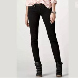 American Eagle Original Black Skinny Jeans 10